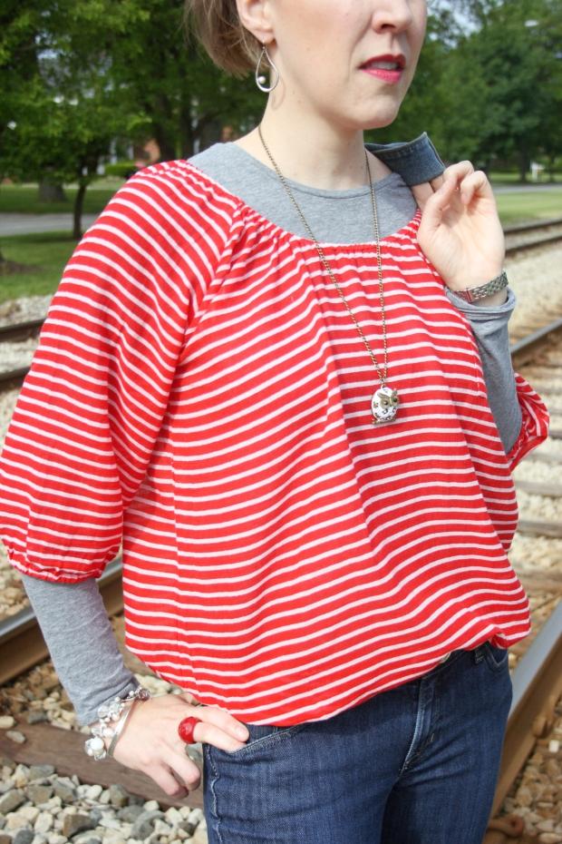 Red, White & Blue on RTA Tracks