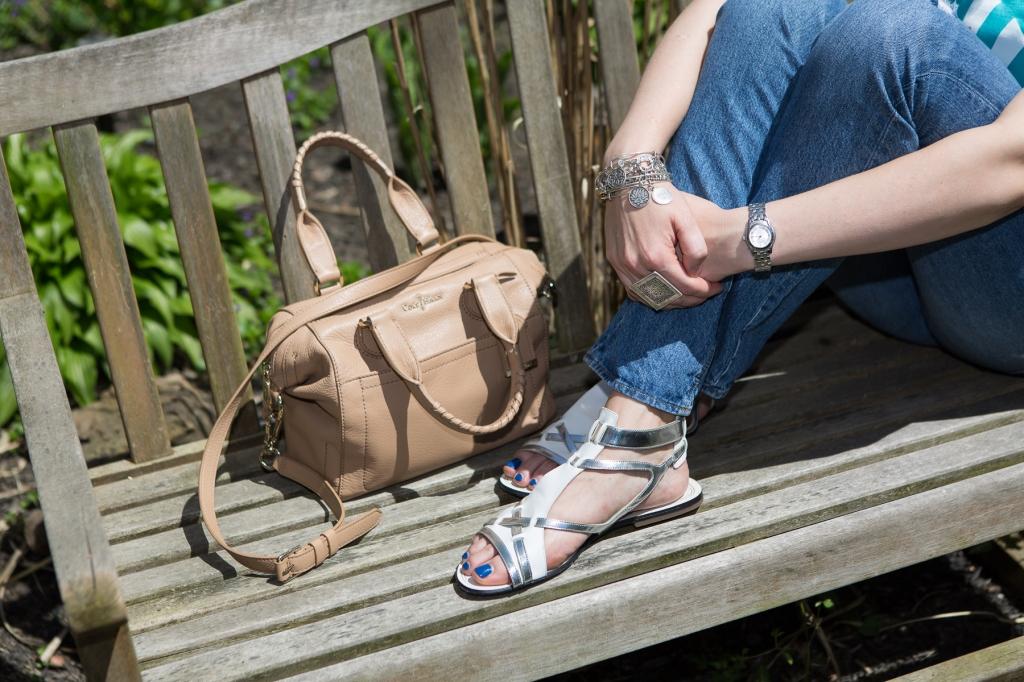 Cole Haan Handbag and Cole Haan Sandal