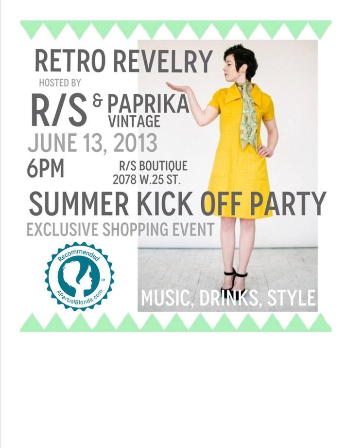 Retro Revelry by Room Service & Paprika Vintage