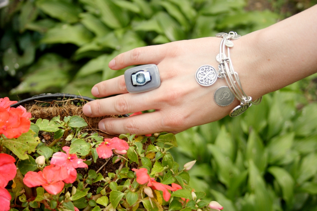 Alex and Ani Bracelets, Murano Glass Ring
