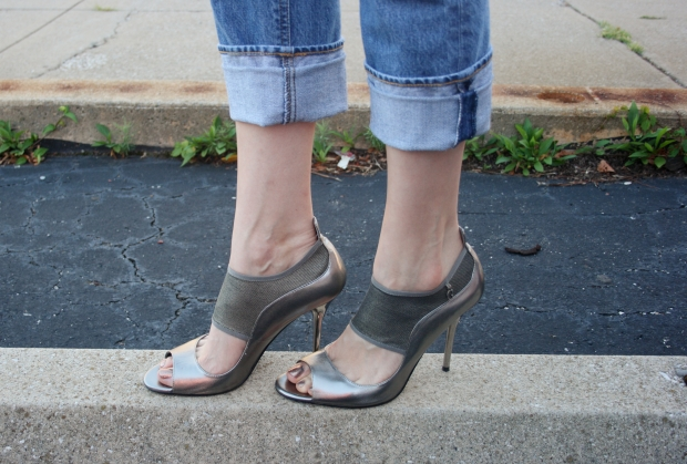 J.Crew Denim, Rust Belt Chic, Guess Pumps, Silpada, Target Clutch, A.J Morgan Sunnies