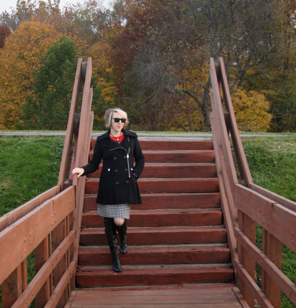 over-the-knee boots, Via Spiga, J.Crew, Calvin Klein, A.J. Morgan, Movado, MAC