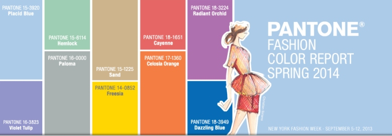 Pantone 2014 Fashion Color Report Spring
